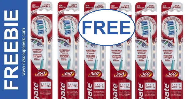 FREE Colgate Manual Toothbrush at CVS 11-22-11-28