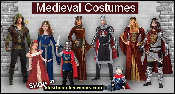 Medieval Costumes Renaissance Costumes  Maiden Costume Knight Costume  king Costume