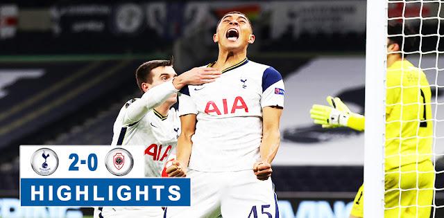 Tottenham Hotspur vs Antwerp – Highlights