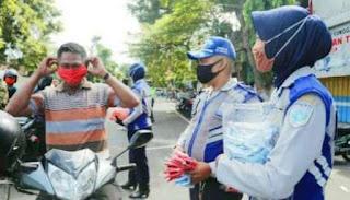 Pemkab Lumajang Berlakukan Kawasan Wajib Pakai Masker