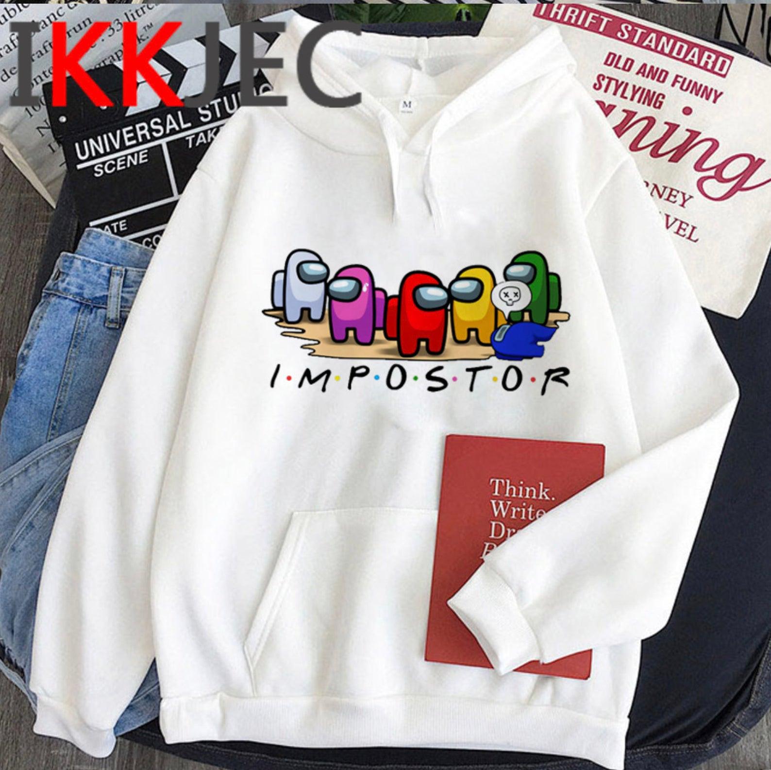 Among Us Friends Hoodie, Impostor Hoodie, Crewmate Hoodie, Among Us Sweatshirt, Among Us shirt, Among Us Sweater, Gamer Shirt,Gift For Gamer