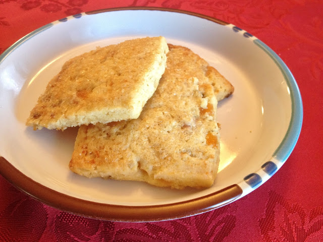 Apricot Blue Cheese Scones