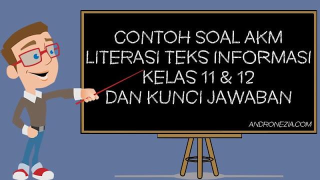 Contoh Soal AKM Literasi Teks Informasi Kelas 11 & 12 dan Kunci Jawaban