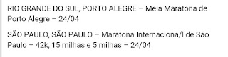Corridas 2016 Brasil