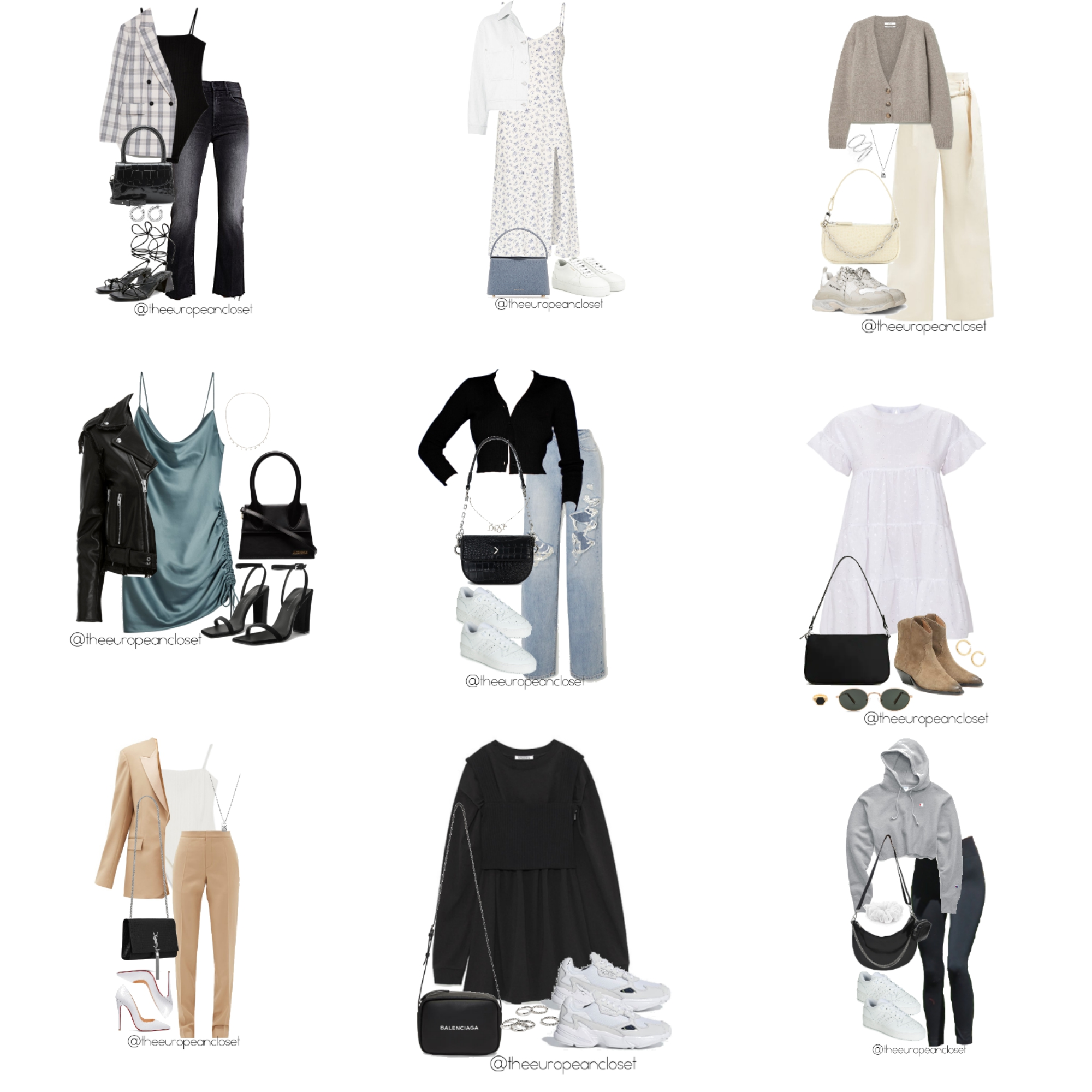 The European Closet Styling- Best Looks Of April