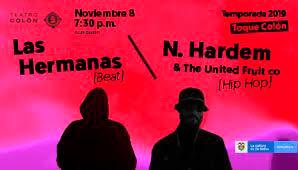 Concierto N. HARDEM y LAS HERMANAS en Bogotá