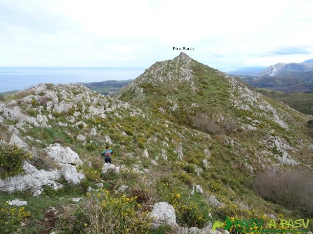Sierra de la Cueva Negra: Llegando al Pico Bacia