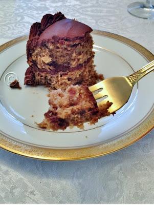 Healthier Hummingbird Cake with Chocolate Sweet Potato Icing