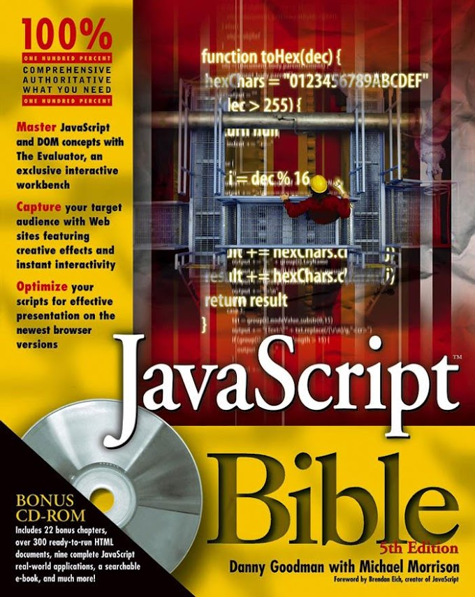 JavaScript Bible, 5th Edition. Wiley