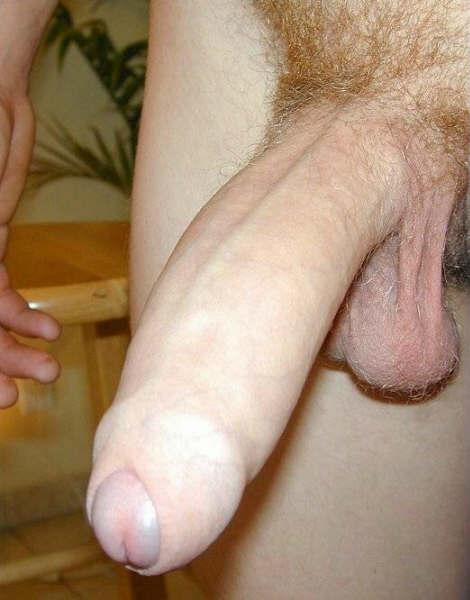 Massive thick uncut cock
