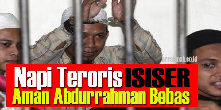 Gembong ISIS Aman Abdurrahman Narapidana Terorisme Akhirnya Bebas Setelah Dapat Remisi