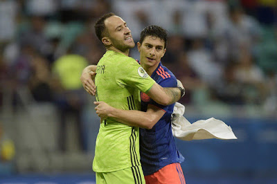 Ospina after match against argentina