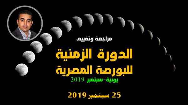مراجعة وتقييم الدورة الزمنية للبورصة المصرية يونية سبتمبر 2019