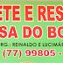 IBIPITANGA-AUTO POSTO MACEDO E CASA DO BODE A MELHOR CARNE DE BODE DA REGIÃO.