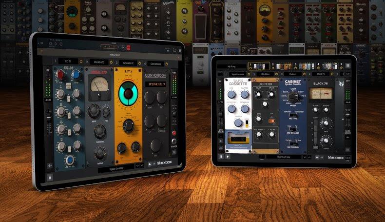 IK Multimedia releases MixBox CS virtual channel strip plug-in for iPad