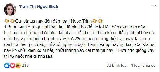 Chị gái chửi đám bạn Ngọc Trinh nịnh bợ, đích thân nhắc đến Helen Thanh Thảo