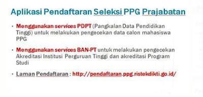 alamat pendaftaran ppg prajabatan 2019