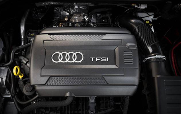 2017 Audi TT S Line Competition Engine