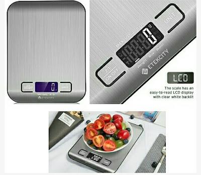 Etekcity Digital Scale - Mini Food Weighing Device