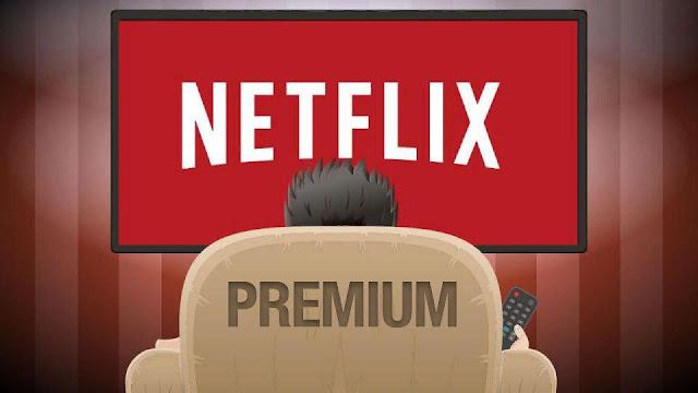 Premium подписка на Netflix