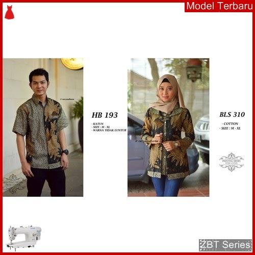 ZBT14709 Kebaya Batik Couple Seragam Kemeja Variasi BMGShop