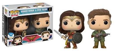 Wonder Woman Movie Retailer Exclusive Variant Pop! Figures by Funko