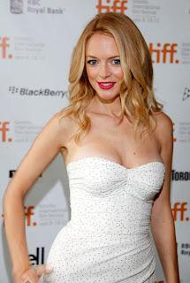 Heather Graham In White Dress 1