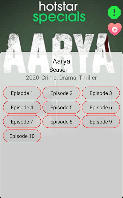 arya web series watch online free