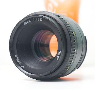 Lensa Fix Nikon 50mm AF-D