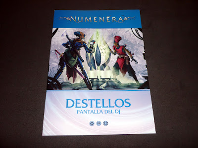 Reseña Pantalla Numenera + suplemento Destellos (Holocubierta)