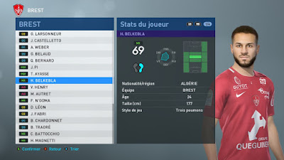 PES 2019 Faces Haris Belkebla by TiiToo Facemaker