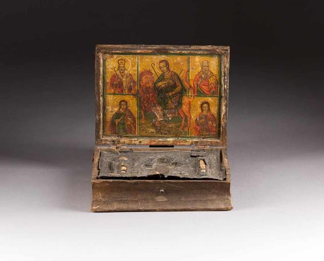 Επαναπατρίζεται λειψανοθήκη που λάνθανε από την περίοδο της τουρκικής εισβολής στην Κύπρο https://leipsanothiki.blogspot.com/
