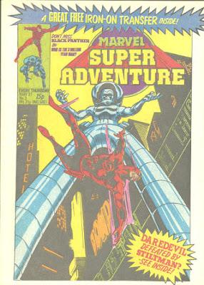 Marvel Super Adventure #3, Daredevil vs the Stiltman