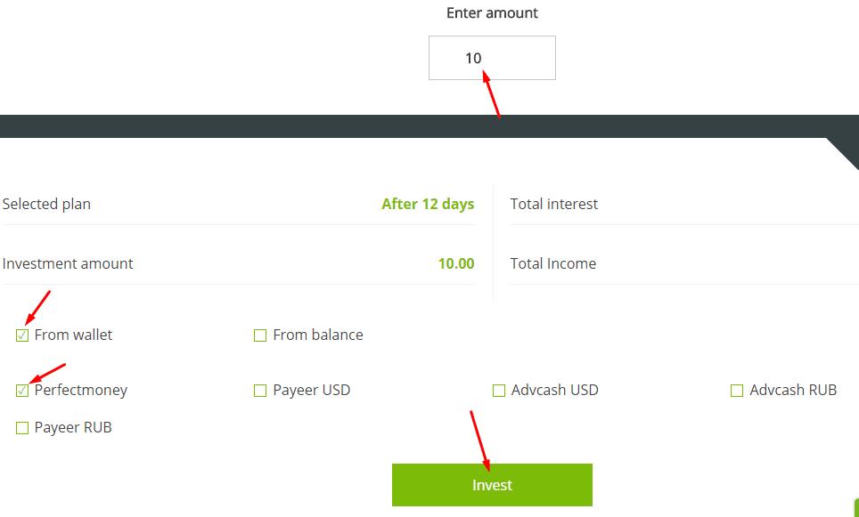 Регистрация в CryptoFound 4