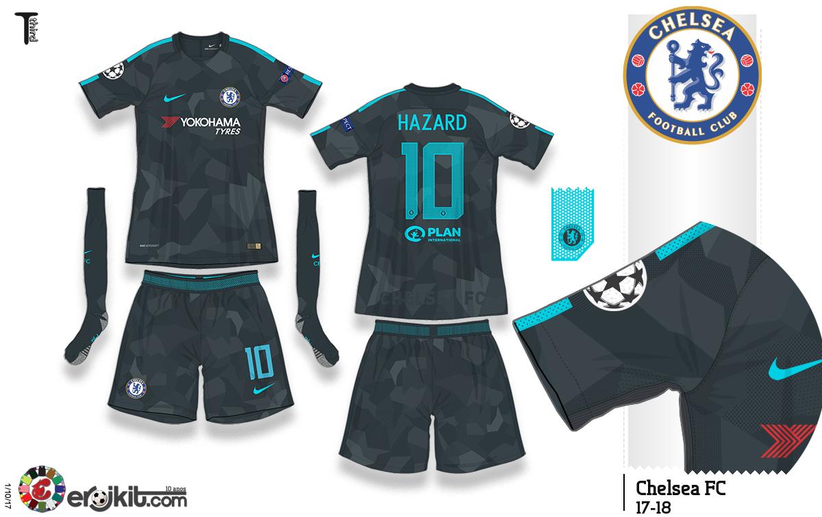 ef2f383323 Camisa do Chelsea