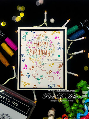 Today I have a Simple Birthday Card for you using the Hooray to You Stamp Set from Stampin' Up! Click here to learn more