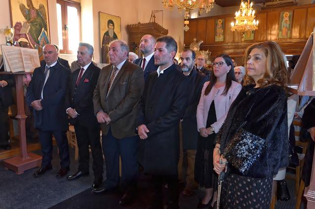 Κοπή Πρωτοχρονιάτικης πίτας στον Δήμο Ερμιονίδας και μήνυμα του Δημάρχου Γ. Γεωργόπουλου