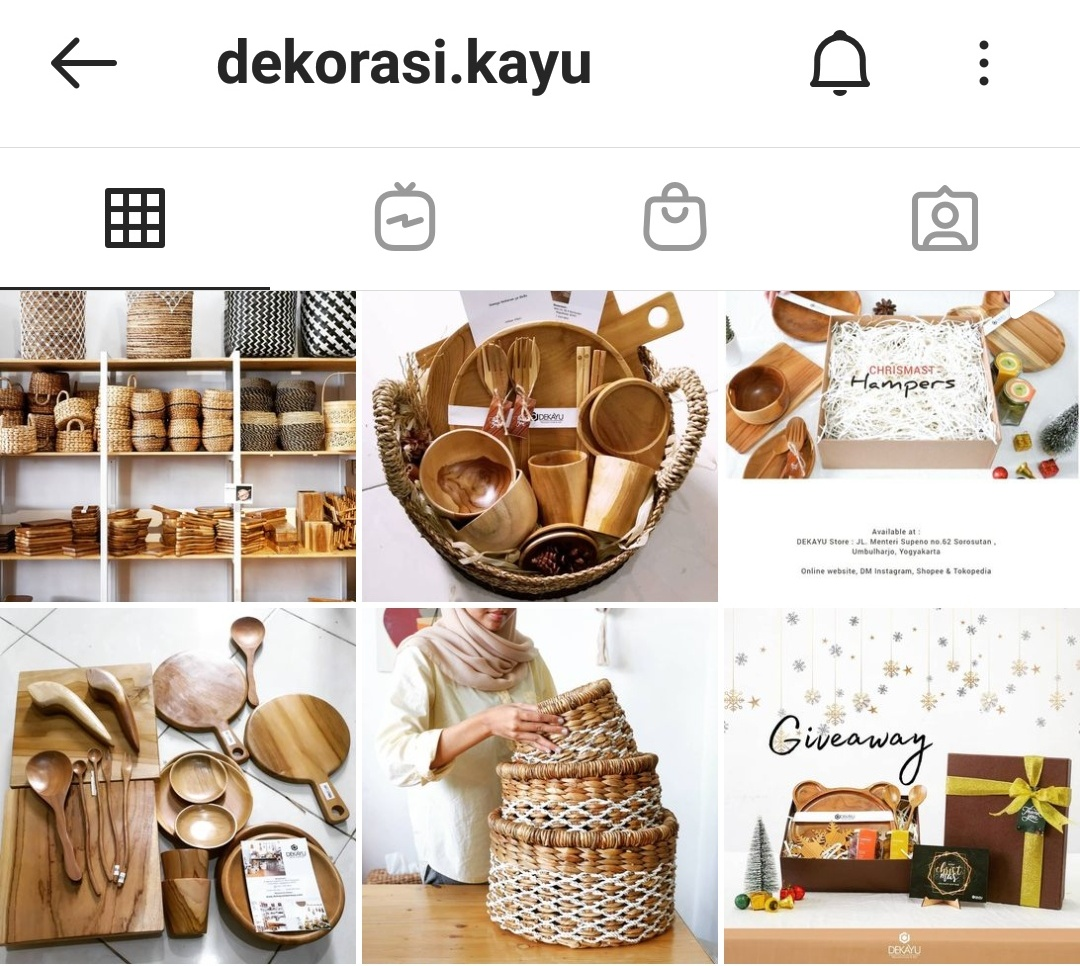 Sekayu Wooden Craft and gift