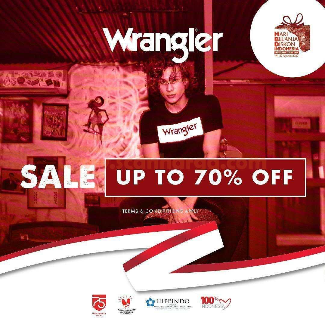 Promo Wrangler Merdeka Sale