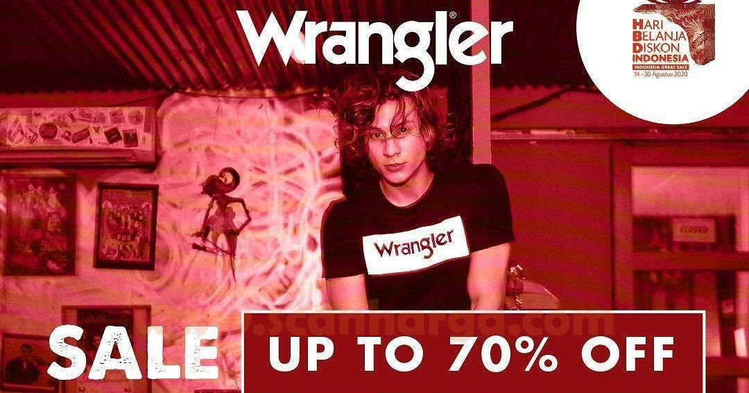 Promo Wrangler Merdeka Sale Up To 70% Off* - scanharga