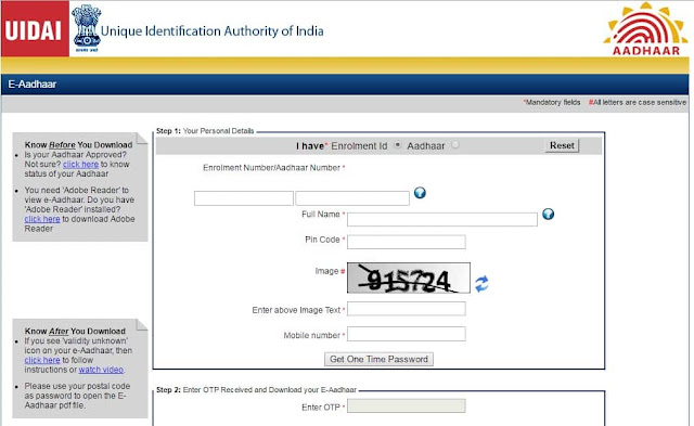 www uidai gov in