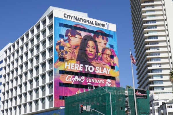 Claws season 2 TNT billboard