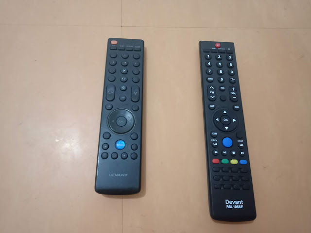 replacement remote control for devant tv