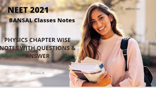 [PDF]BANSAL Classes Physics For NEET 2021 With Questions Answer