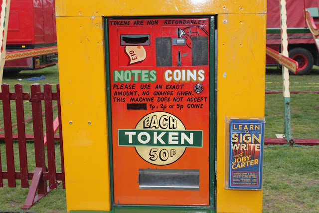 One of the Carters Steam Fairs token machines.