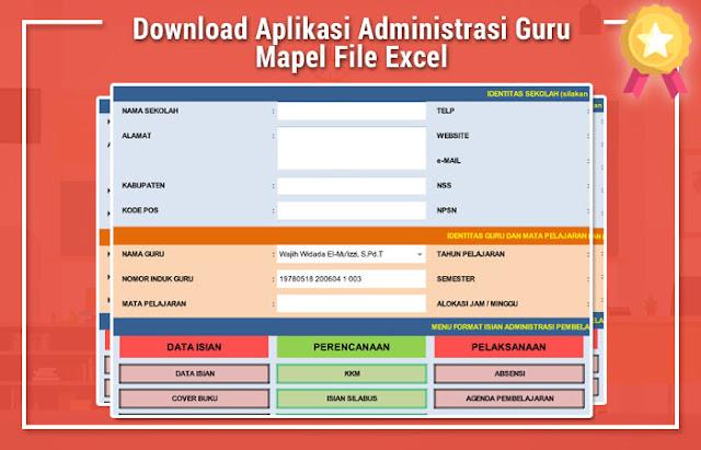 Aplikasi Administrasi Guru Mapel