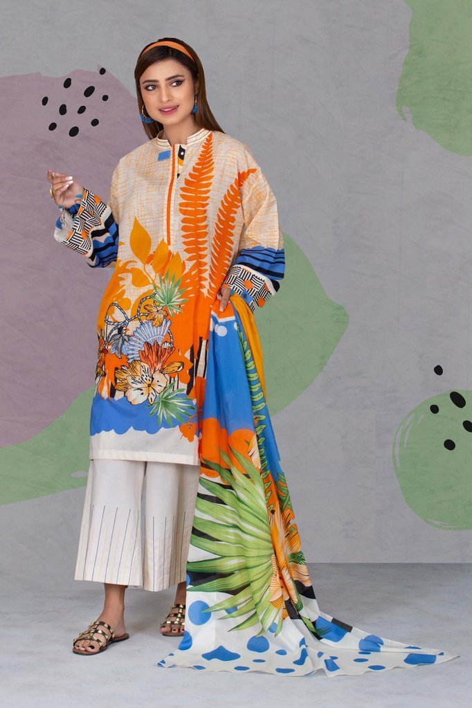 Eid Shopping | Sapphire Capsule Lawn 2020 - Eye catching prints