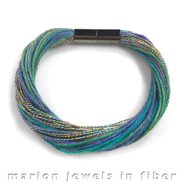 Multi Strand Linen Bracelets, Necklaces, and Pendants - Kits and Tutorial