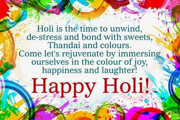 Holi Status Quotes Wishes