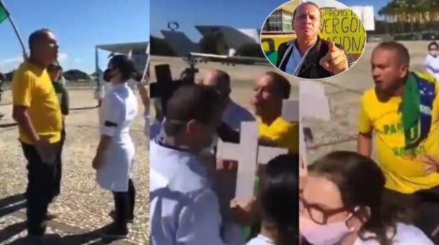 Bolsonarista que agrediu enfermeiras trabalha no Ministério da Mulher